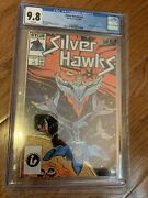 Silver Hawks 1 Cgc 9.8 First Appearance 1st Print Marvel Comic Book 1987 Nm