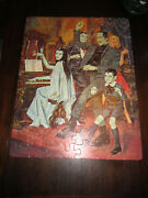 The Munsters Jigsaw Puzzle Whitman Complete In Box 1965