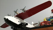 """40's Wyandotte China Clipper 13"""" Wingspan Metal Airplane Classic"""