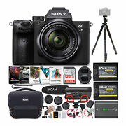 Sony Alpha A7 Iii Digital Camera With 28-70mm Lens And Accessory Bundle