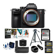 Sony Alpha A7r Iii 42.4mp Mirrorless Camera Body Only With Accessories Bundle