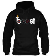 Teespring Boost With Fire Classic Pullover Hoodie - Poly/cotton Blend