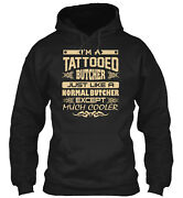 Teespring Tattooed Butcher T Classic Pullover Hoodie - Poly/cotton Blend