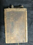 Ford 1910 Model T Wooden Coil Box