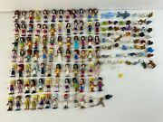 Lego Friends Minifigures Huge Lot 144+ Figures + Animals And Accessories