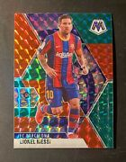 2020-21 Panini Mosaic 57 Lionel Messi T-mall Asia Choice Red And Green Prizm Sp