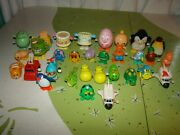 30 Vintage Tomy Russ Hong Kong Wind Up Toys Space Shuttle Animals Cake Octopus