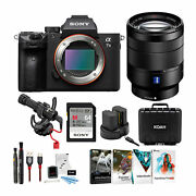 Sony Andalpha7 Iii Full Frame Mirrorless Camera With 24-70mm Lens Bundle