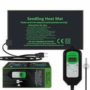10x20.5 Seedling Heat Mat And Thermostat Controller Ip65 Waterproof Seed Start