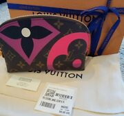 Authentic Louis Vuitton Limited Edition Game On Cosmetic Pouch Bag