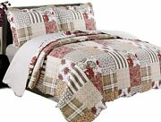 Coast To Coast Quilts For King Bedding Lightweight 3-piece King Quilt Set Soft