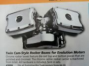 Twin Cam Style Rocker Boxes For Evo For Harley-davidson