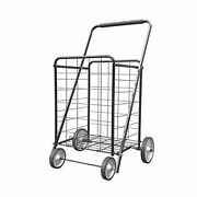 Xinglang Folding Shopping Cart Collapsible And Heavy Duty Grocery Cart Deluxe...