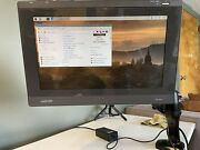 Wacom Dtu-1631 Interactive Pen Stylus 15.6 Graphics Tablet Display And Arm