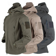 Menand039s Jacket Outdoor Soft Shell Fleece Menand039s And Womenand039s Windproof Waterproof B