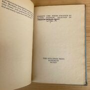 Twenty One Poems Written By Lionel Johnson 1904 Signed By William Butler Yeats