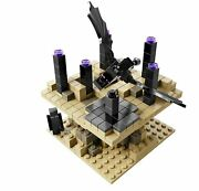 Lego Minecraft 21107 Micro World The End Ender Dragon And Endermen Micromob