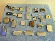 Vintage Junk Drawer Lot Misc Lighters Tiger And Dragon Zippo Beattie Jet Read Ad