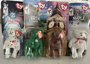 Ty Beanie Baby - Mcdonald's International Bears Full Set - Mint And In Package