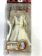 Lord Of The Rings The Two Towers Saruman The White Action Figure New