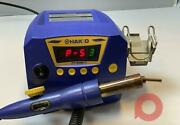 Hakko Fr-810b Smd Hot-air Rework Station 820w 1ch 120v With 2 Nozzles Included