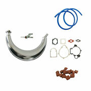 Muffler Exhaust Piepand15xsquare Clutch Pads Fits 66/80cc Engine Motorized Bicycle