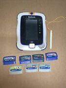 Vtech Innotab 3 French Tablet Tested Console For Kids + 7 Game Cartridges