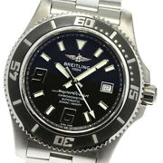 Breitling Super Ocean 44 A17391 Black Dial Automatic Menand039s Watch_620163
