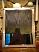 And Co. Authentic Sterling Silver 925 Engine Turned Picture Frame 8andrdquo X 10andrdquo