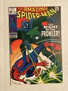 Amazing Spider-msn 78 Marvel 1969 First Appearance Of The Prowler