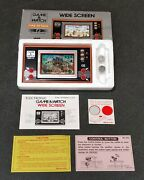 Nintendo Game And Watch Fire Attack Vintage Id-29 1982 Lcd Boxed. Never Played