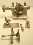 Jewelers / Watch Makers Lathe Headstock And Miscellaneous Parts For Repair