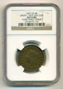 Ngc Hard Times Token 1837 Liberty - Not One Cent Ht-48 Au53 Bn