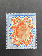 India 1902 Sg 147 Kevii 25 R Mh Stamp