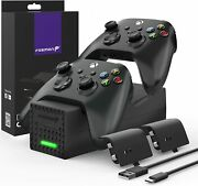 Dual 2 Controller Charger Compatible With Xbox Series X S Controllers Xbox One