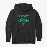 Support Local Growers Classic Pullover Hoodie - Poly/cotton Blend
