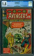 Avengers 1 Cgc 1.5 - Page 15 And 16 Detached