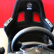 Gran Turismo 4 Ps2 Sparco Racing Cockpit Pro Logitech Driving Force Pickup Only