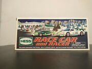 Hess 2009 Toy Truck Race Car And Racer - New In Box