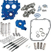 Sands Cam Chest Kit Tc3 Oil Pump/plate Chain Drive 551ce Harley Big Twin 07-16