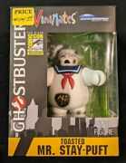 Ghostbusters Vinimates Toasted Mr. Stay Puft Vinyl Figure Sdcc 2017 Exclusive