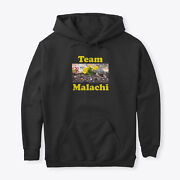 Team Malachi Classic Pullover Hoodie - Poly/cotton Blend By Laura Mowrey