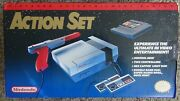Pristine Nintendo Entertainment System Action Set Bros./duck. Fast Free Shipping