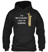 Bari Saxophone The Instrument Chooses Pullover Hoodie - Poly/cotton Blend