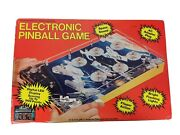 Vintage Electronic Pinball Game Toytronic New Old Stock 1980s