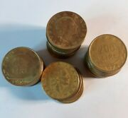 Lot Of 5 World Coins - Italy Italian 200 Lire 1970and039s 80and039s 90and039s Coin