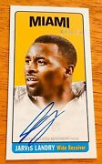 Jarvis Landry Browns Auto Autograph 2014 Topps Tall Boy 73/150 Rookie Card Sp Rc