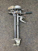 Vintage 1930and039s Evinrude Elto Pal Outboard Boat Motor Made In The Usa 1.1 Horse
