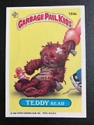 Garbage Pale Kids Teddy Bear 164a 1986 Topps Chewing Gum Inc.