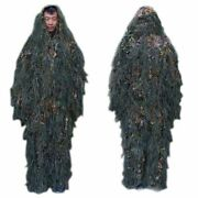 Outdoor Grass Bionic Camouflage Suit Hunting Clothes Jacket Pants Set Waterproof